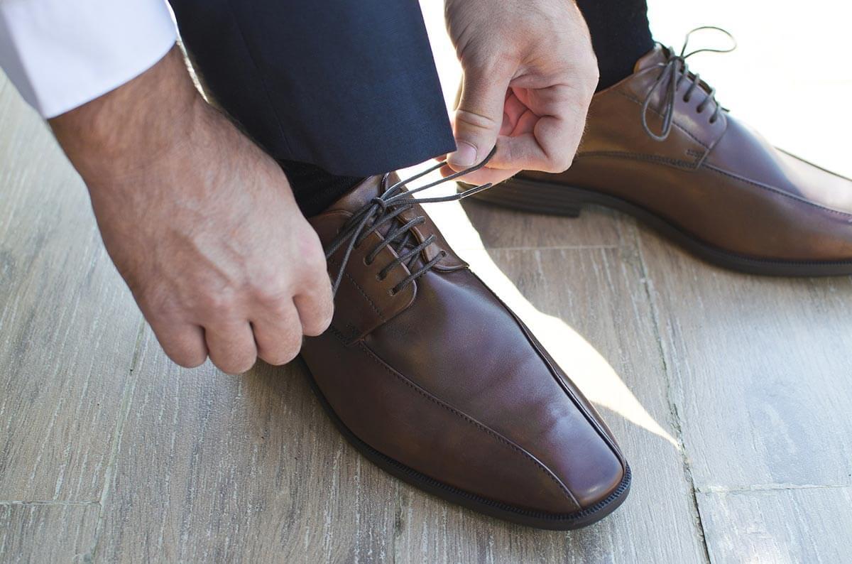 歩きやすい革靴